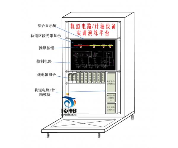 轨道电路或计轴设备实训演练平台