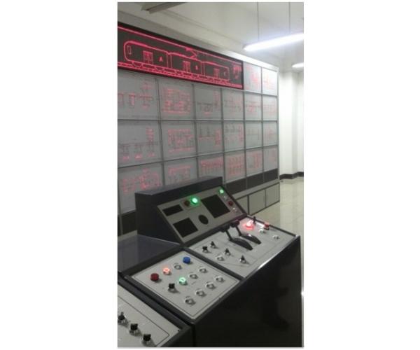 城市轨道交通列车电气回路系统教学平台