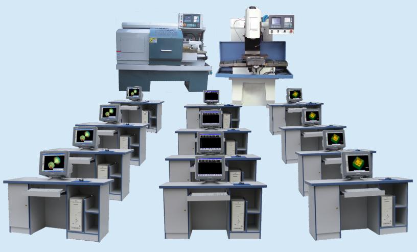 网络型教学生产两用数控机床机电一体化培训系统