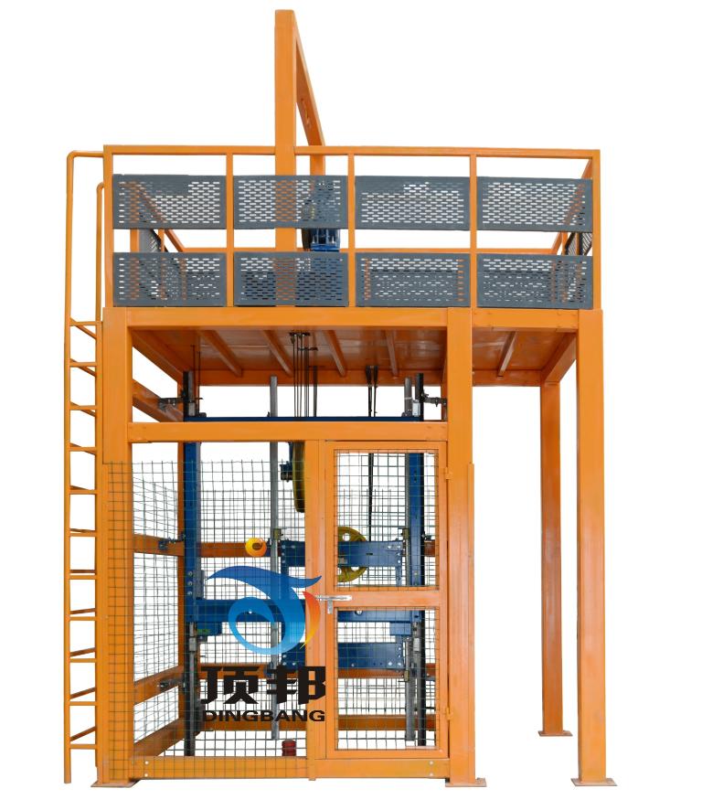 电梯曳引系统安装实训考核设备