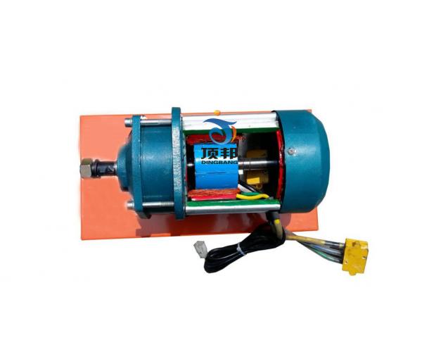 纯电动车直流有刷电机解剖模型
