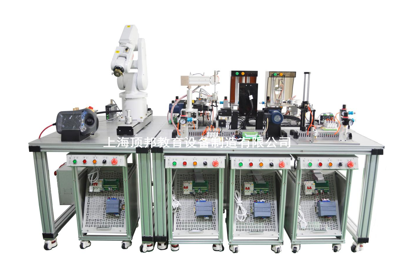 智能工业机器人实训平台