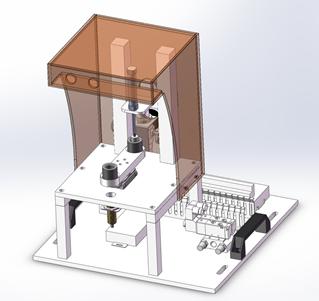 工件模拟加工单元